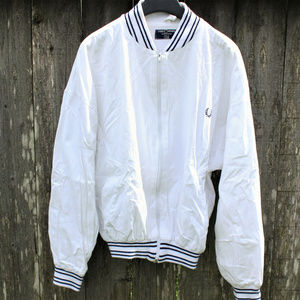 Authentic VTG Fred Perry Full Zip Logo Jacket